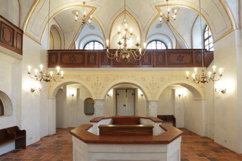 Synagoga v Březnici Foto: Archiv projektu