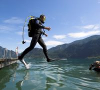 Potápění v jezeře Attersee