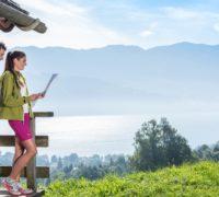 Pěší turistika a lezení u jezera Attersee