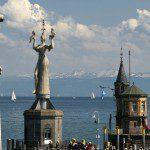 Kostnice - kráska na Bodamském jezeře