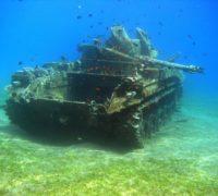 Jordánsko otevřelo své první podvodní vojenské muzeum