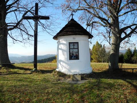 Velké Karlovice - kaplička Strčkova