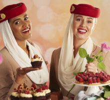 Společnost Emirates nabídne cestujícím během Valentýna 40 jedinečných dezertů