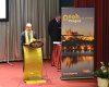 Stanislav Voleman, předseda Asociace průvodců ČR, při zahájení kongresu WFTGA. Foto: Petr Podloucký