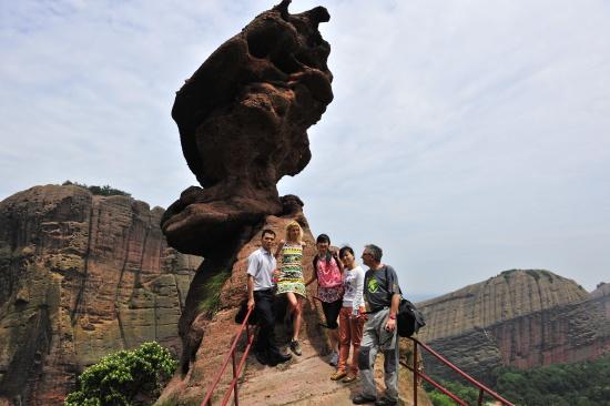 Revalidace (hodnocení) Globálního geoparku Longhushan (Čína)  Foto: Archiv Martiny Páskové