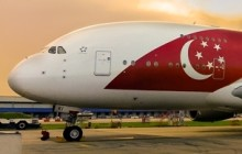 SIingapore Airlines A380 to fly in National Day Parade