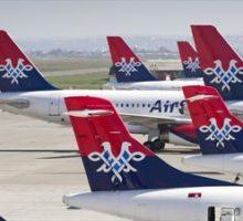 Obnovení letů s Air Serbia