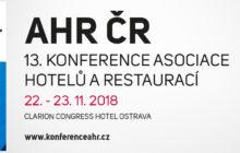 V Ostravě proběhne 13. konference Asociace hotelů a restaurací ČR