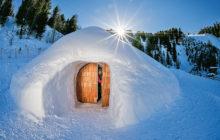 Restaurační a společenské iglú sněhového hotelu ve Speikbodenu. Foto: archiv Travel Digestu