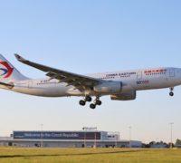 Od května bude společnost China Eastern Airlines létat z Prahy pětkrát týdně