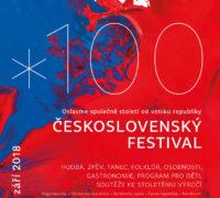 Druhý zářijový víkend bude patřit Československému festivalu