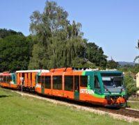 Na šumavských železnicích usnadňuje přepravu kol šest cyklovleků, vznikají však zpoždění
