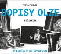 Dopisy Olze na jevišti Divadla v Dlouhé i s anglickými titulky