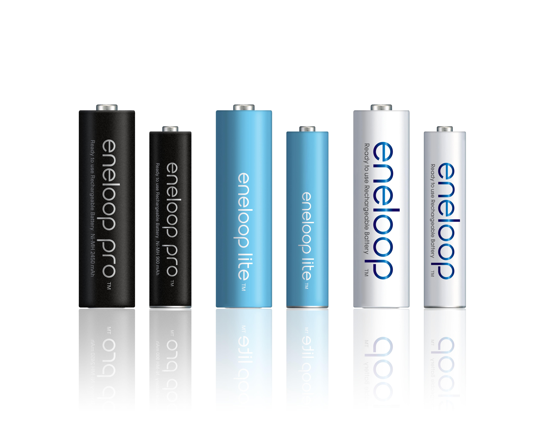 Soutěžte s bateriemi Panasonic eneloop