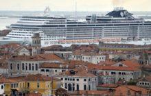 Velké výletní lodě již nebudou vplouvat do Benátek