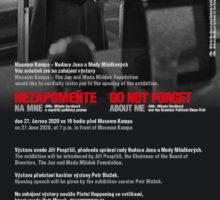 Nezapomeňte na mne: JUDr. Milada Horáková a největší politický proces
