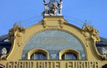 Částečným vlastníkem Grand Hotelu Evropa je Ferid Nasr