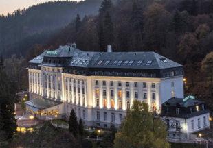Hotel Radium Palace,  léčebné lázně Jáchymov. Foto: www.e-lazne.eu