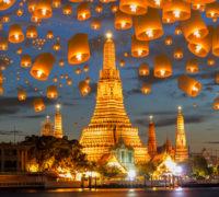 Do Bangkoku z Prahy letadlem přímo!