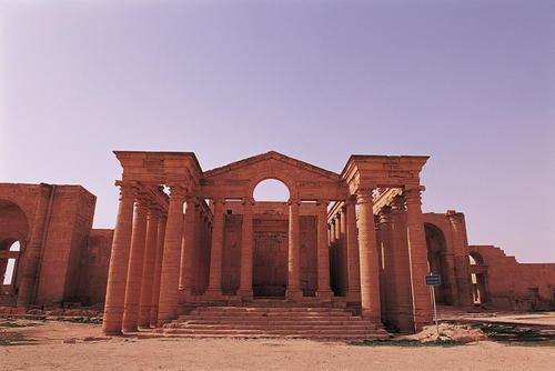 Hatra, Irák Foto: UNESCO © Editions Gelbart
