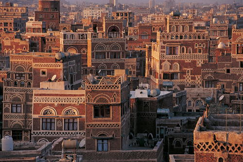 Staré město Sana'a, Jemen Foto: UNESCO © Editions Gelbart