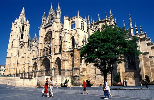 Stezky Santiago de Compostela, Španělsko  © UNESCO, Patrice Thébault