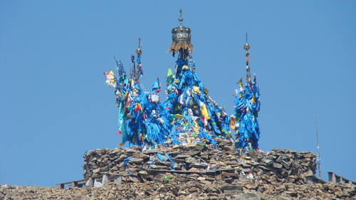 Hora Burchan Chaldun a její posvátné okolí, Mongolsko Foto: UNESCO © B. Hashmargad