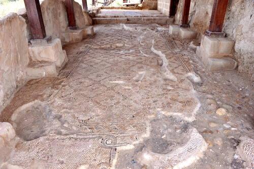 Betánie v Zajordání, Území na východním břehu řeky Jordán, kde působil Jan Křtitel (Al-Maghats) Jordánsko Foto: UNESCO © Baptism Site Commission