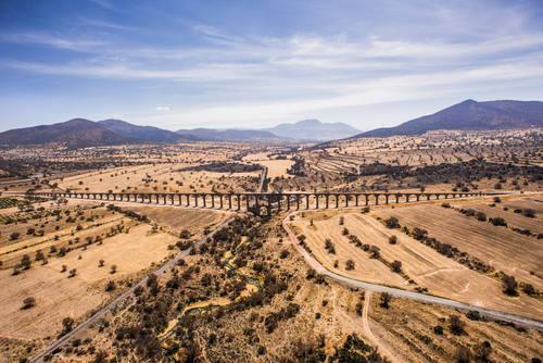Akvadukt otce Tembleque, Mexiko Foto: Unesco © Espacio de la Imagen, Edgar Valtiago