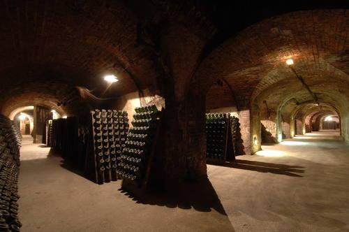 Kopce, domy a sklepy v Champagne, Francie Foto: UNESCO © Michel Jolyot/Association Paysages du Champagne