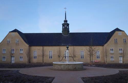 Christiansfeld, který založili moravští přistěhovalci, Dánsko Foto: UNESCO © Kolding Kommune, Annemette Løkke Berg