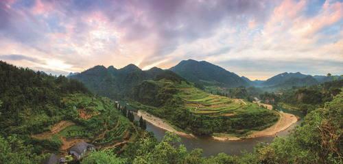 Lokalita Tusi, Čína Foto: UNESCO © Management Office of Laosicheng Tusi Domain
