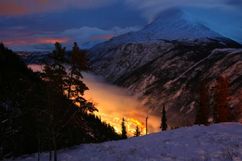 Průmyslová oblast Rjukan–Notodden, Norsko Foto: UNESCO © Hans-Dieter Fleger