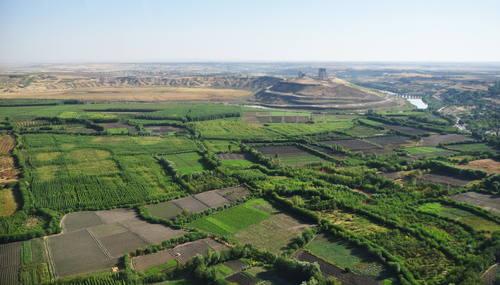 Pevnost Diyarbakir a zahrady Hevsel, Turecko Foto: UNESCO © Diyarbakır Metropolitan Municipality - Site Management Unit, Zeynep Sıla Akıncı