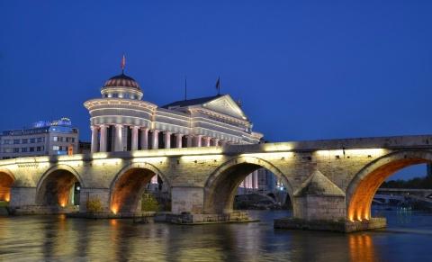 Skopje Foto: Macedonia Timeless