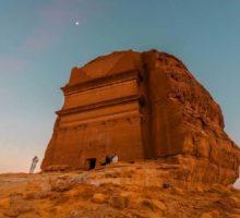 První turisté v Saúdské Arábii