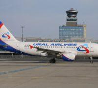 Letecká společnost Ural Airlines létá z Prahy do Moskvy