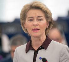 Ursula von der Leyen, předsedkyně Evropské komise.
