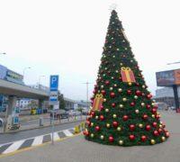 Vánoční svátky se slaví i na Letišti Václava Havla Praha