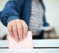 Volby do Evropského parlamentu poblíž Letiště Václava Havla Praha