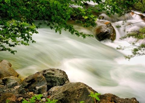 Řeka Radika Foto: Macedonia Timeless