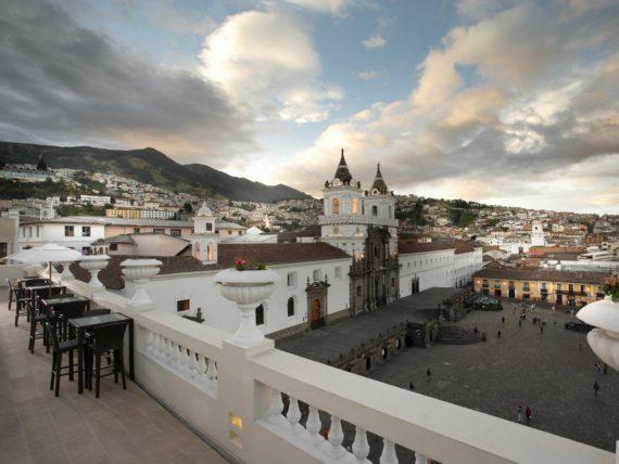 Casa Gangotena, Quito (Ekvádor)