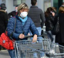 Varování před koronavirem v severní Itálii